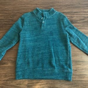 Turquoise Pullover